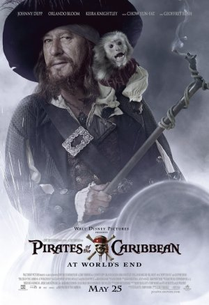 Pirates of the Caribbean: At World's End 891x1300