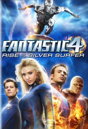4: Rise of the Silver Surfer Dvd cover