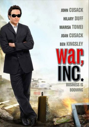 War, Inc. Dvd cover
