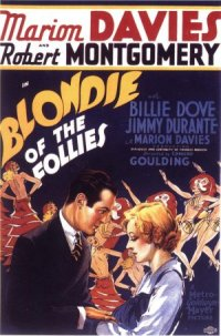 Blondie of the Follies poster