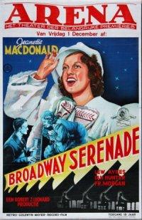 Broadway Serenade poster