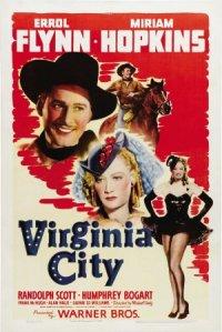 Virginia City poster