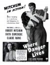 Where Danger Lives Poster