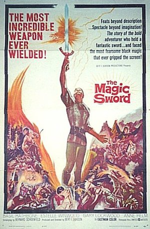 The Magic Sword Poster