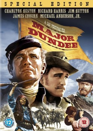 Major Dundee Dvd cover
