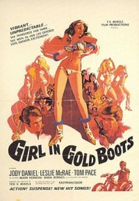 Girl in Gold Boots poster