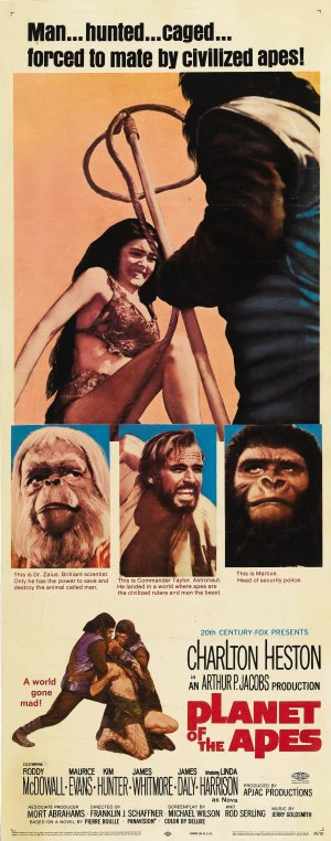 Planet of the Apes 1727x4388