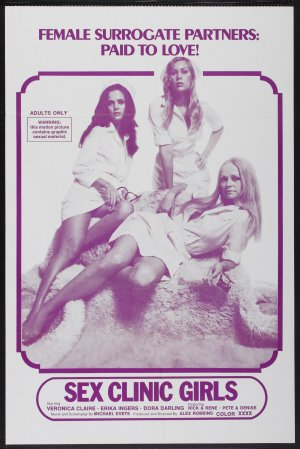 Sex Clinic Girls Theatrical poster