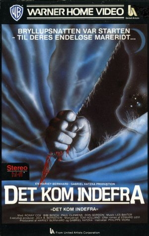 The Beast Within Vhs cover