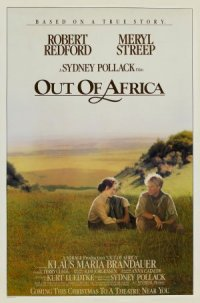 Out of Africa poster