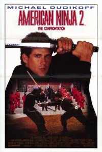 American Ninja 2: The Confrontation poster