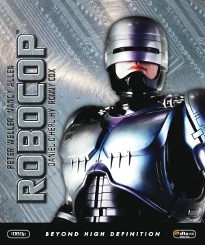 RoboCop Blu-ray cover