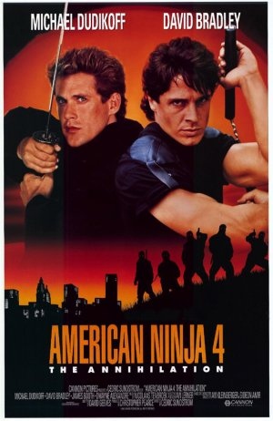 American Ninja 4: The Annihilation Poster