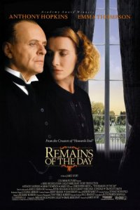 The Remains of the Day poster