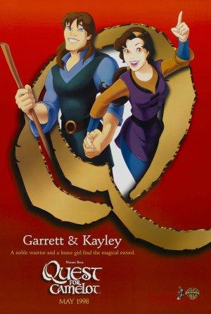 La espada mágica: La leyenda de Camelot 1942x2892