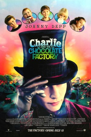Charlie and the Chocolate Factory 1405x2100