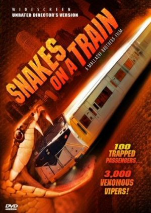 Snakes on a Train 354x497
