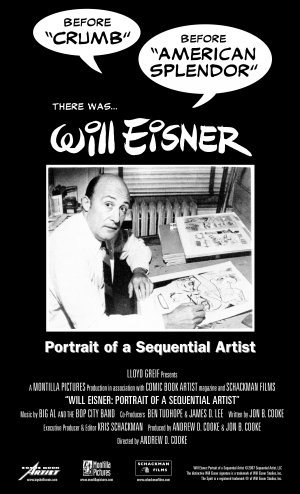 Will Eisner: Portrait of a Sequential Artist 2550x4200