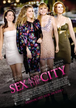 Sex and the City Advance poster