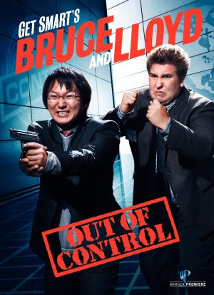 Get Smart's Bruce and Lloyd Out of Control Dvd cover