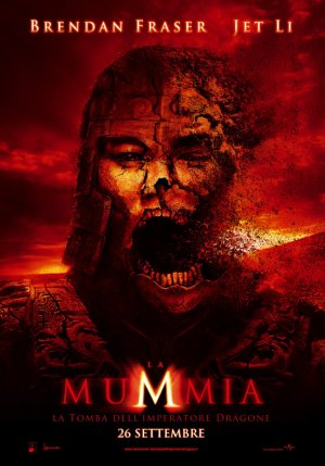 The Mummy: Tomb of the Dragon Emperor 550x786