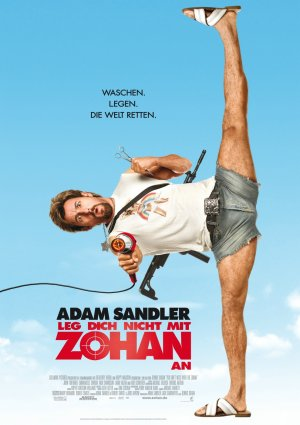 You Don't Mess with the Zohan 989x1400