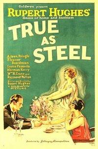 True As Steel poster