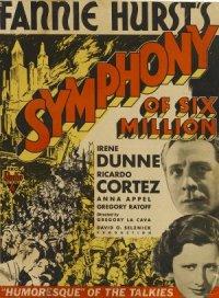 Symphony of Six Million poster