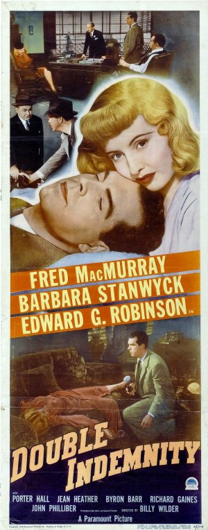 Double Indemnity Theatrical poster
