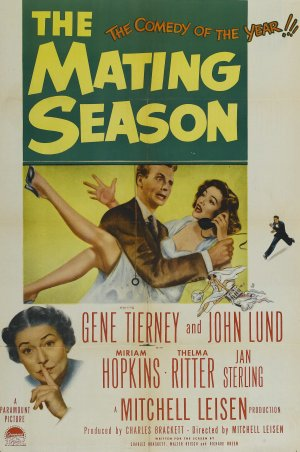 The Mating Season Poster