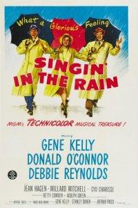 Chantons sous la pluie poster