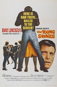 The Young Savages poster
