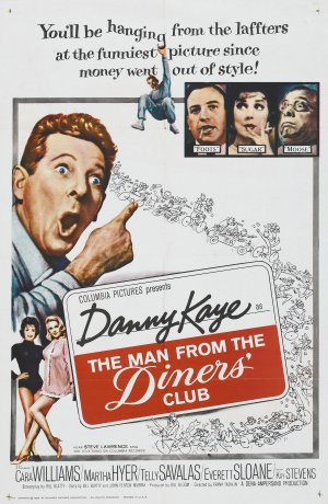 The Man from the Diner's Club Poster