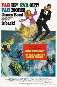 Ian Fleming's On Her Majesty's Secret Service poster