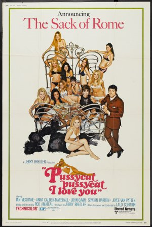 Pussycat, Pussycat, I Love You Poster