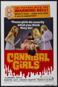 Cannibal Girls poster