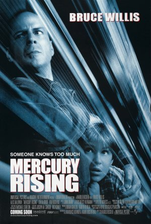 Mercury Rising Advance poster