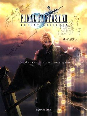 Final Fantasy VII: Advent Children 1840x2440