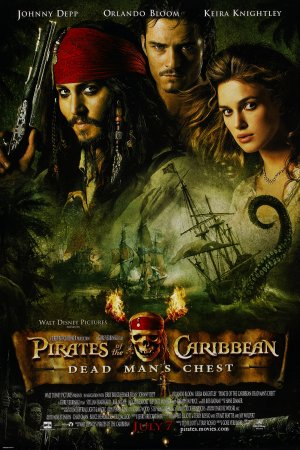 Pirates of the Caribbean: Dead Man's Chest 1800x2702