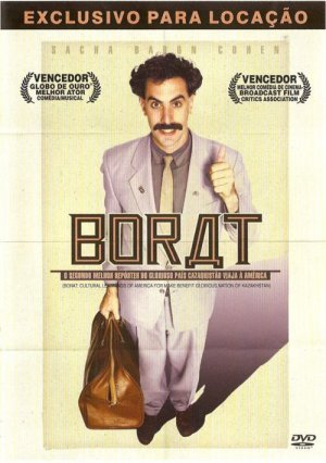 Borat: Cultural Learnings of America for Make Benefit Glorious Nation of Kazakhstan 500x710