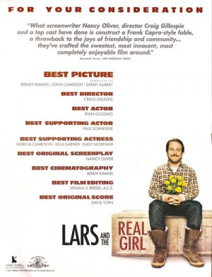 Lars and the Real Girl For your consideration poster
