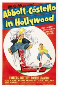 Bud Abbott and Lou Costello in Hollywood poster