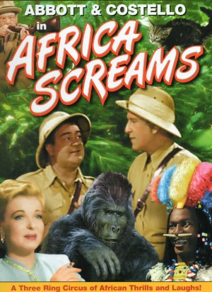 Africa Screams Dvd cover