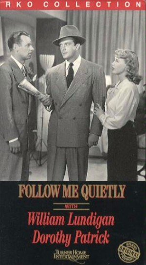 Follow Me Quietly Vhs cover
