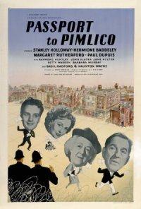 Passport to Pimlico poster