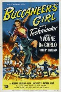 Buccaneer's Girl poster