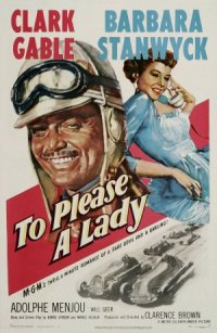To Please a Lady poster