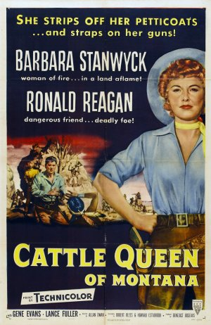 Cattle Queen of Montana Poster