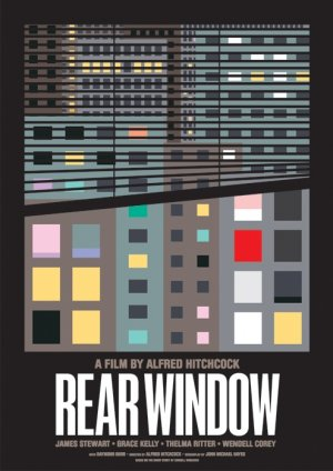 Rear Window Homage poster