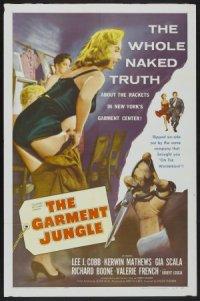 The Garment Jungle poster